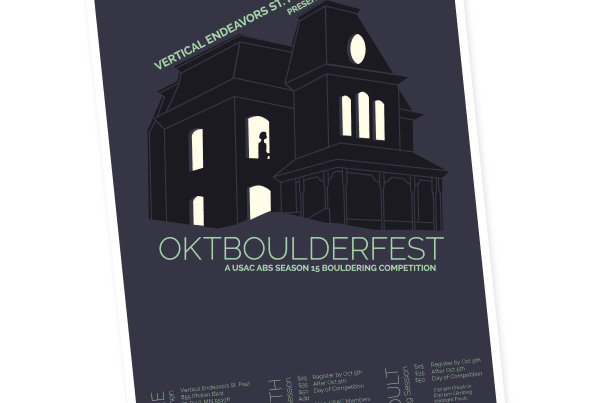 Oktboulderfest Climbing Competition