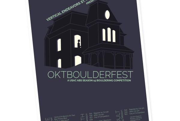 Oktboulderfest Climbing Competition