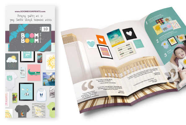 BoomBoom Prints Brochure