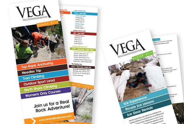 V.E.G.A. Rack Cards