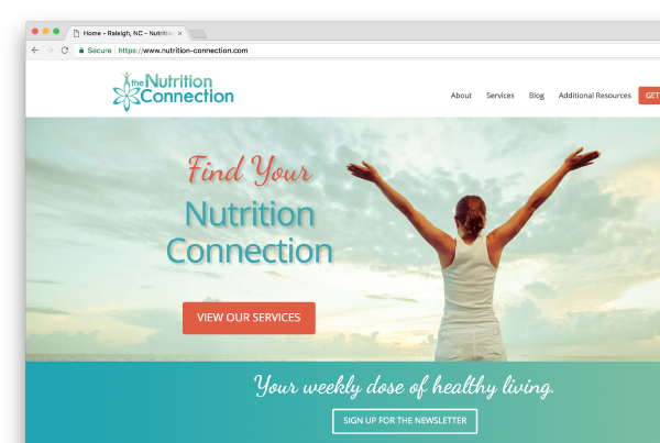 Nutrition Connection Website